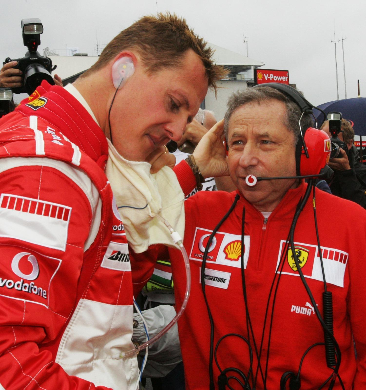 Soarta lui Michael Schumacher