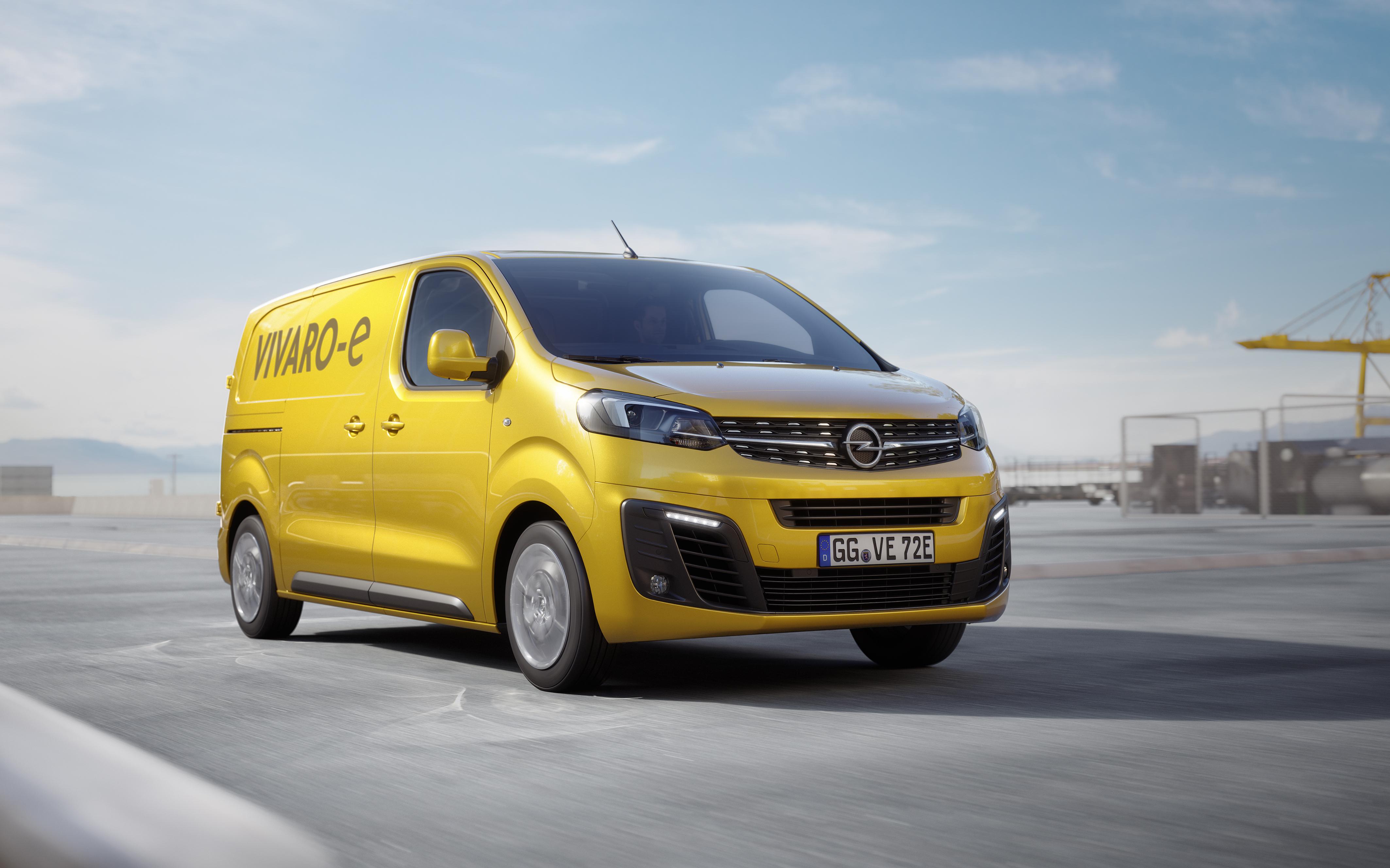 Opel Vivaro-e va fi lansat în 2020