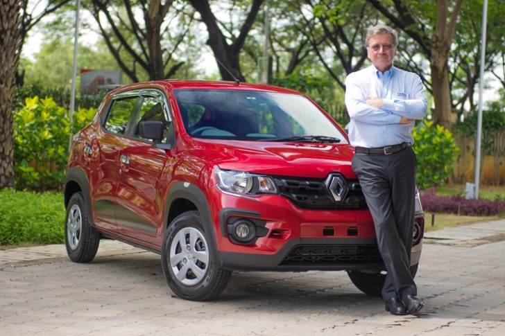Gérard Detourbet Dacia Renault