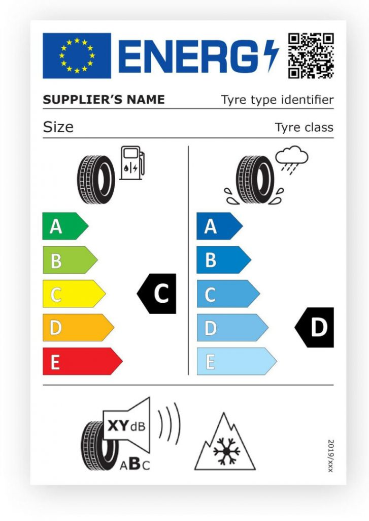 nouă etichetă pentru anvelopele de iarnă