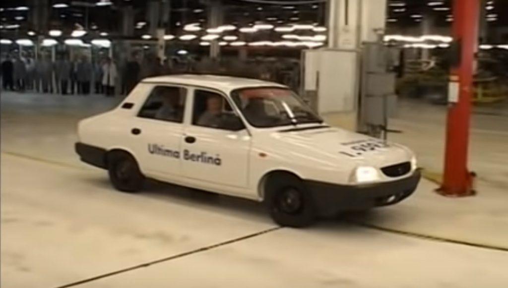 Dacia 1300 a iesit definitiv din productie