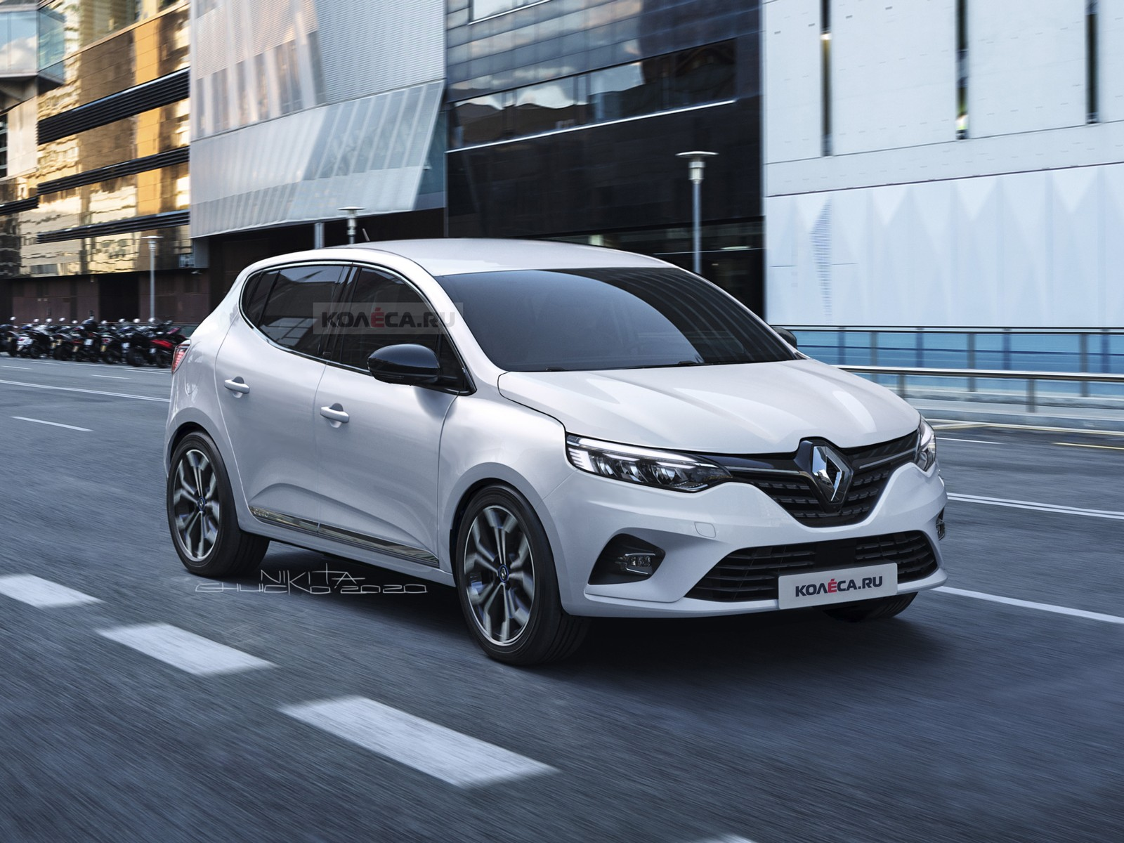 Cea de-a treia generație a popularului hatchback Dacia Sandero se află în faza de testare, așa că apar periodic imagini spion făcute în diverse zone ale lumii. Folosind fotografiile cu mașinile acoperite cu folie camuflaj, rușii de la site-ul kolesa.ru au pregătit câteva randări cu noul model.