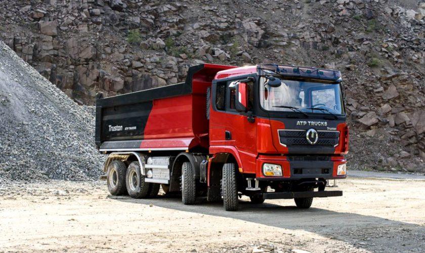 Camionul românesc Truston second hand