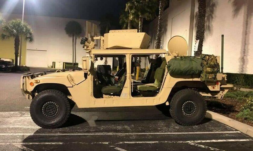 Cu cât se vinde un Humvee care a aparținut armatei americane - VIDEO