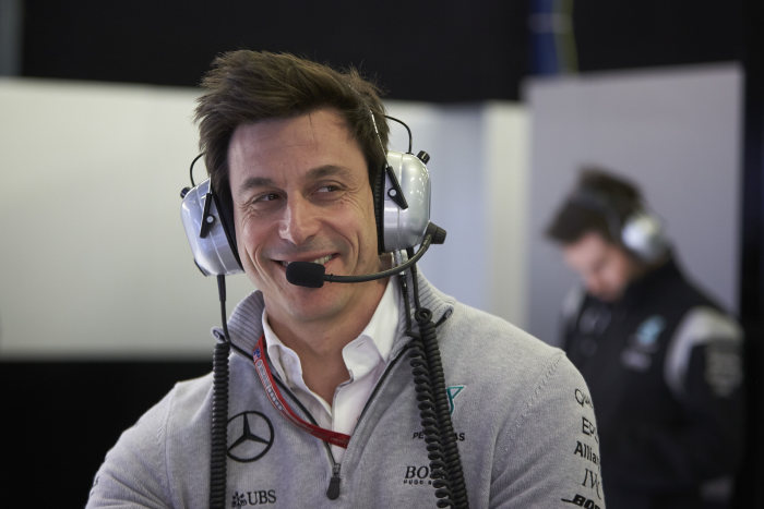 Mercedes-AMG Petronas Formula 1 somn Toto Wolff
