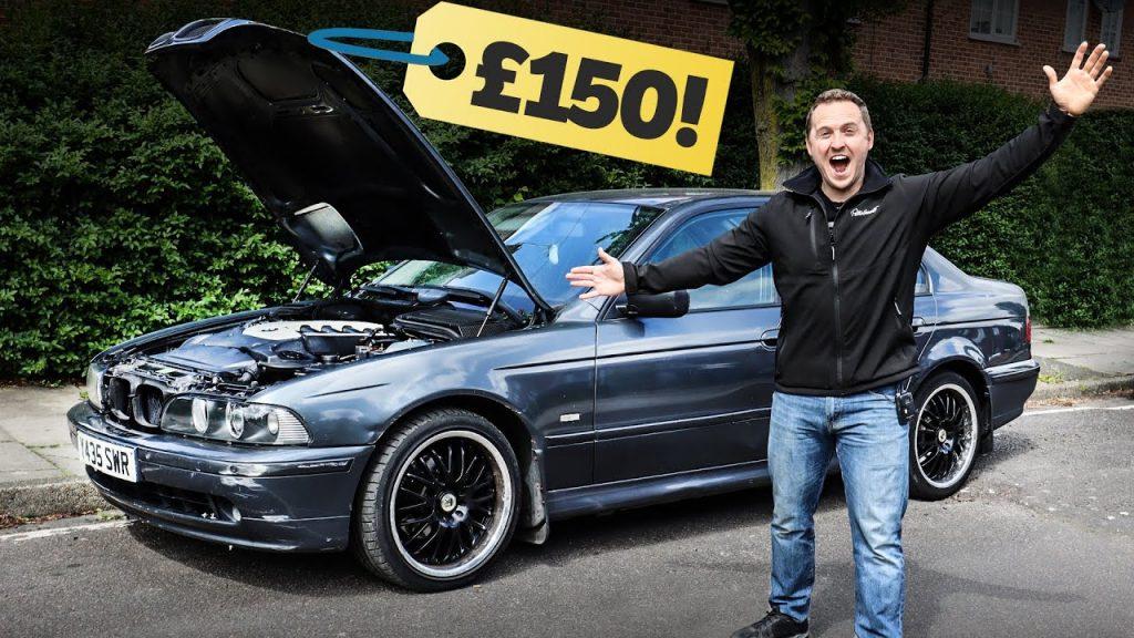BMW Seria 5 rulat