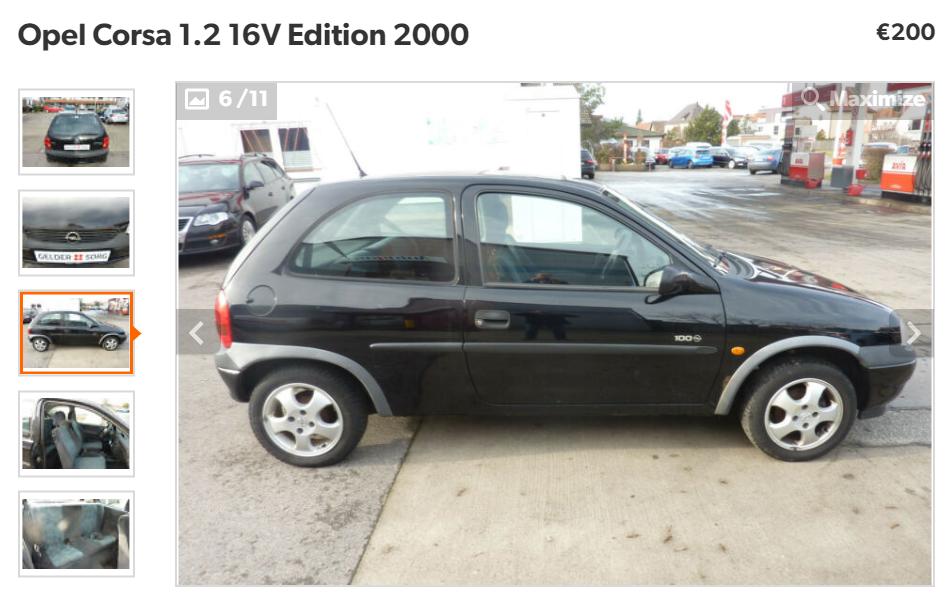 Opel Corsa 1.2 16V Edition 2000
