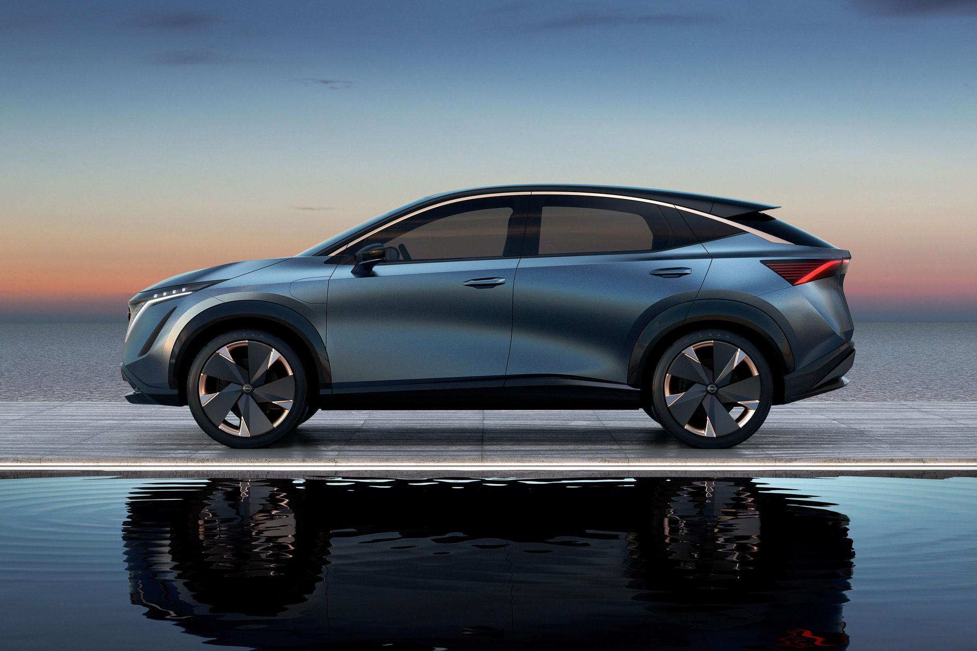 Nissan Ariya model de serie (3)