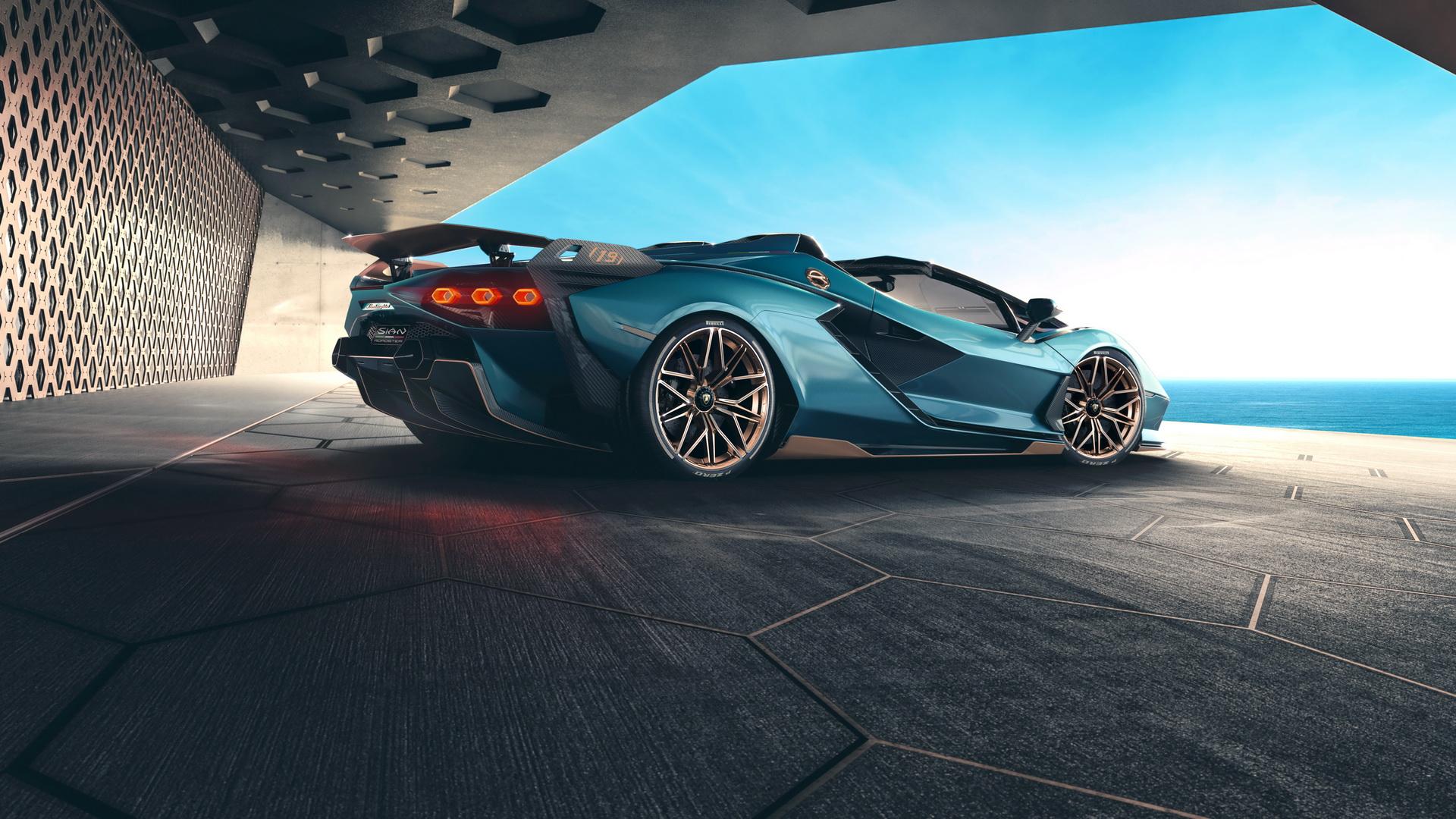 Lamborghini Sian Roadster (9)