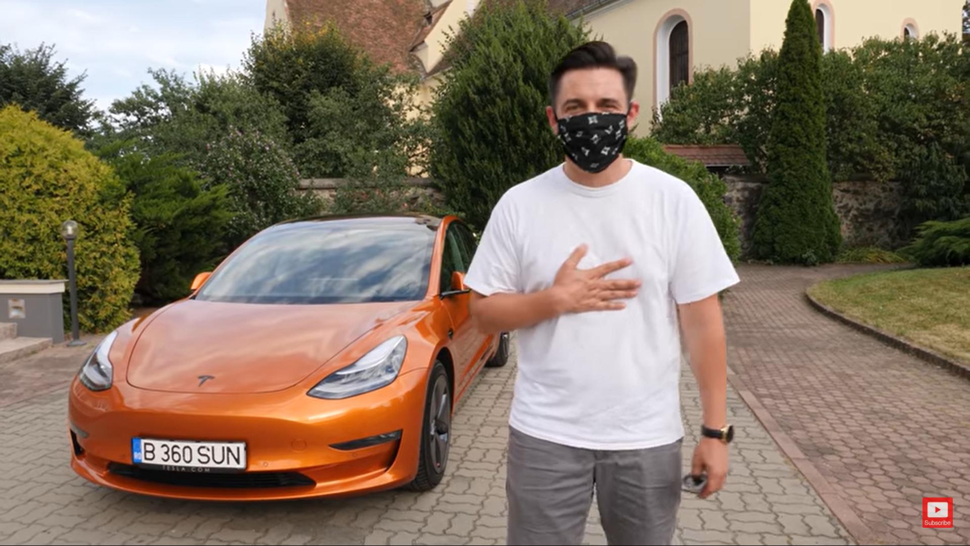 George Buhnici și-a cumpărat o nouă Tesla? Imaginile cu noua mașină sunt senzaționale