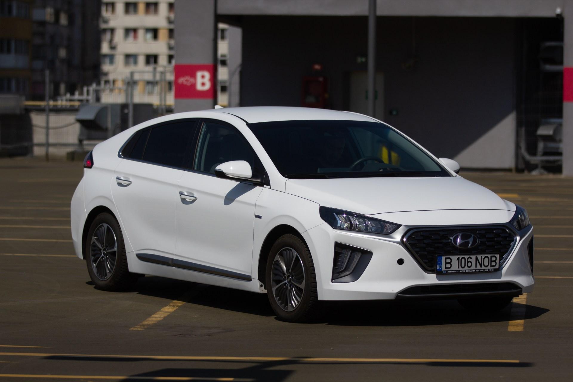 Test drive Hyundai Hybrid Plug-in - Mașina corectă