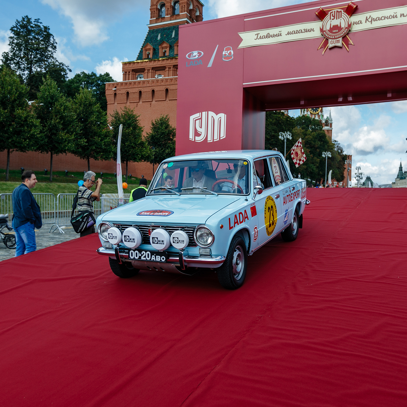 Lada parada 50 de ani la Moscova (6)