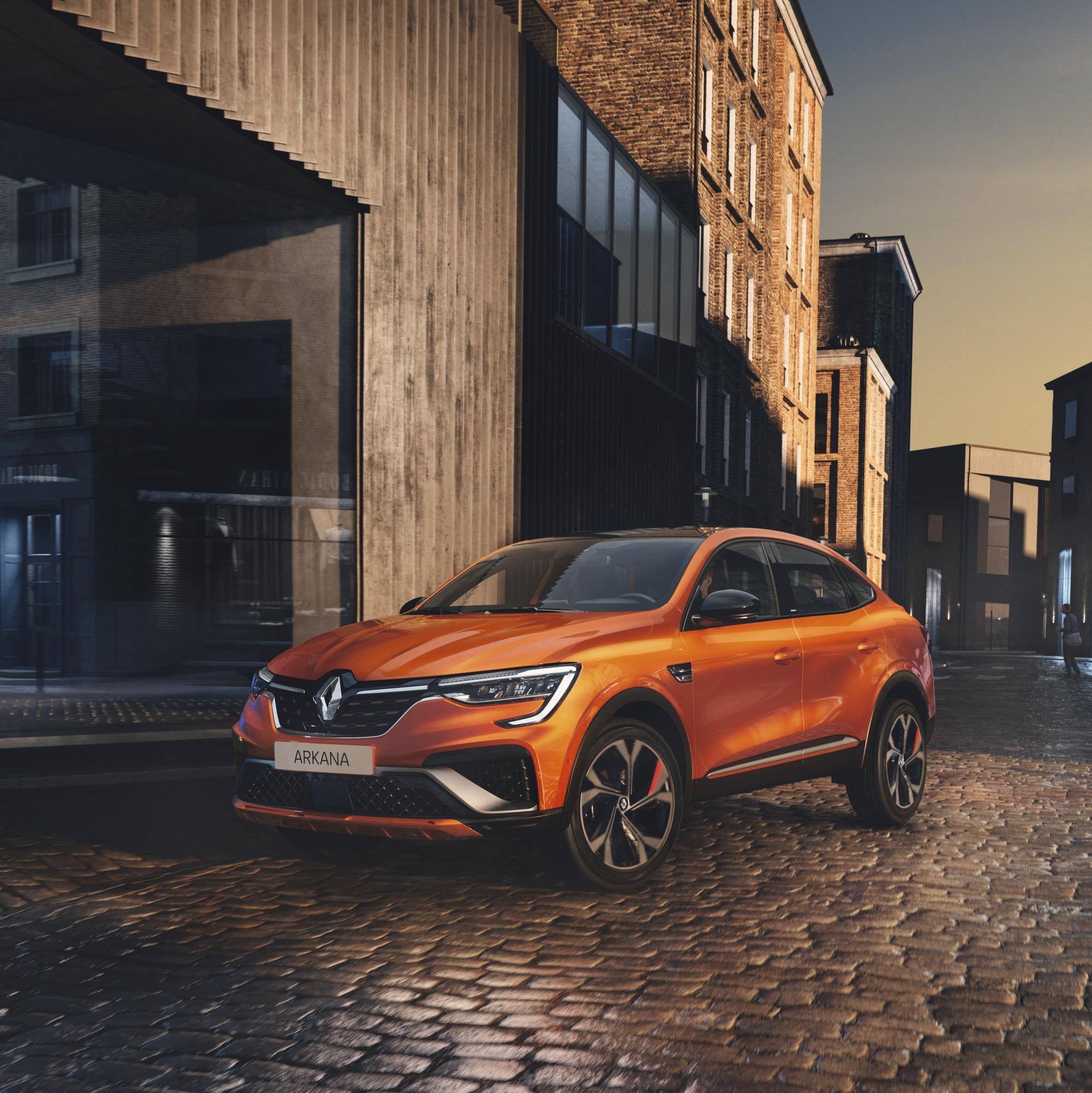Noul Renault Arkana, unul dintre cele mai frumoase SUV-uri coupe, ajunge și în Europa