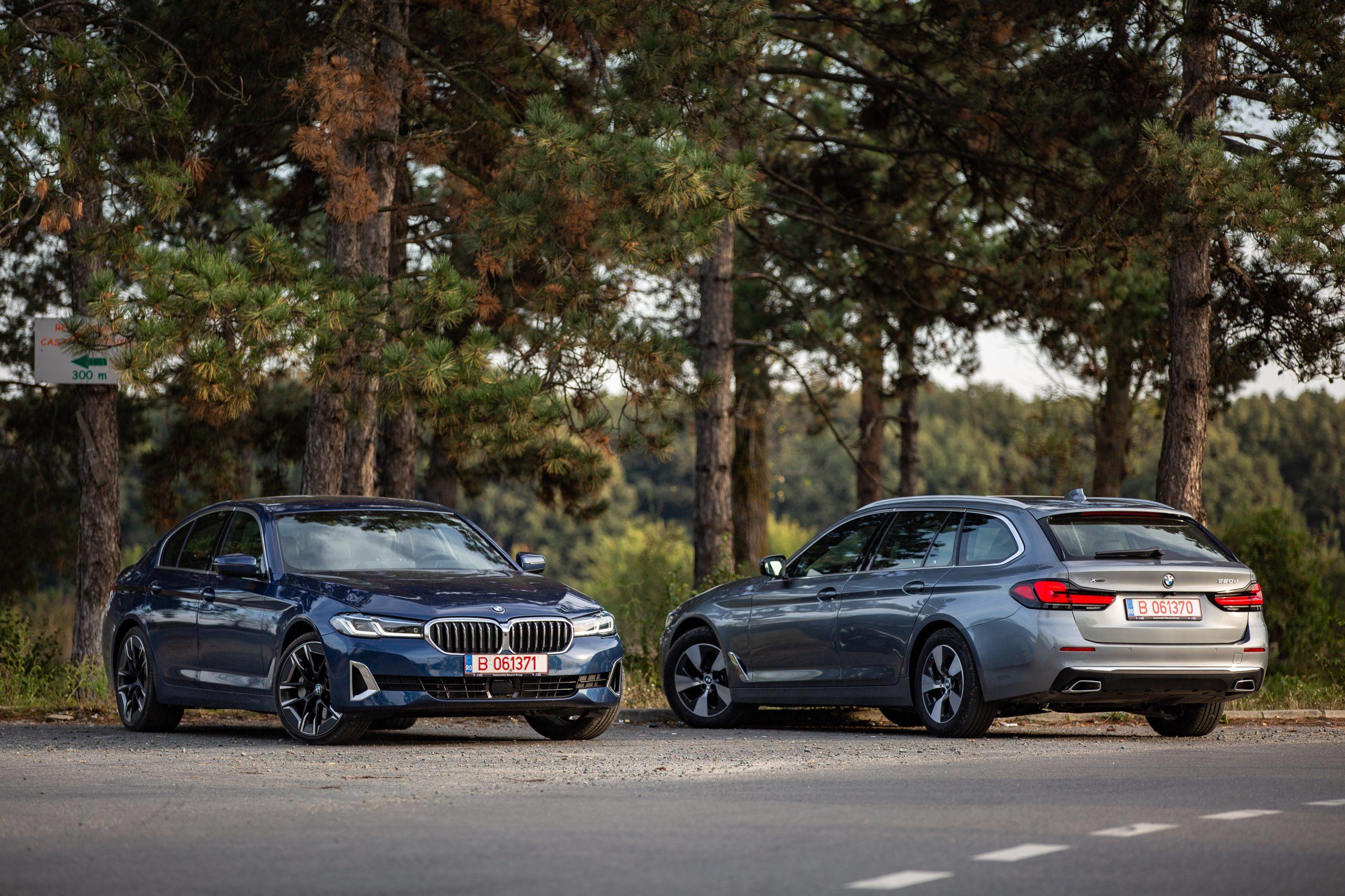 Test drive BMW Seria 5 facelift