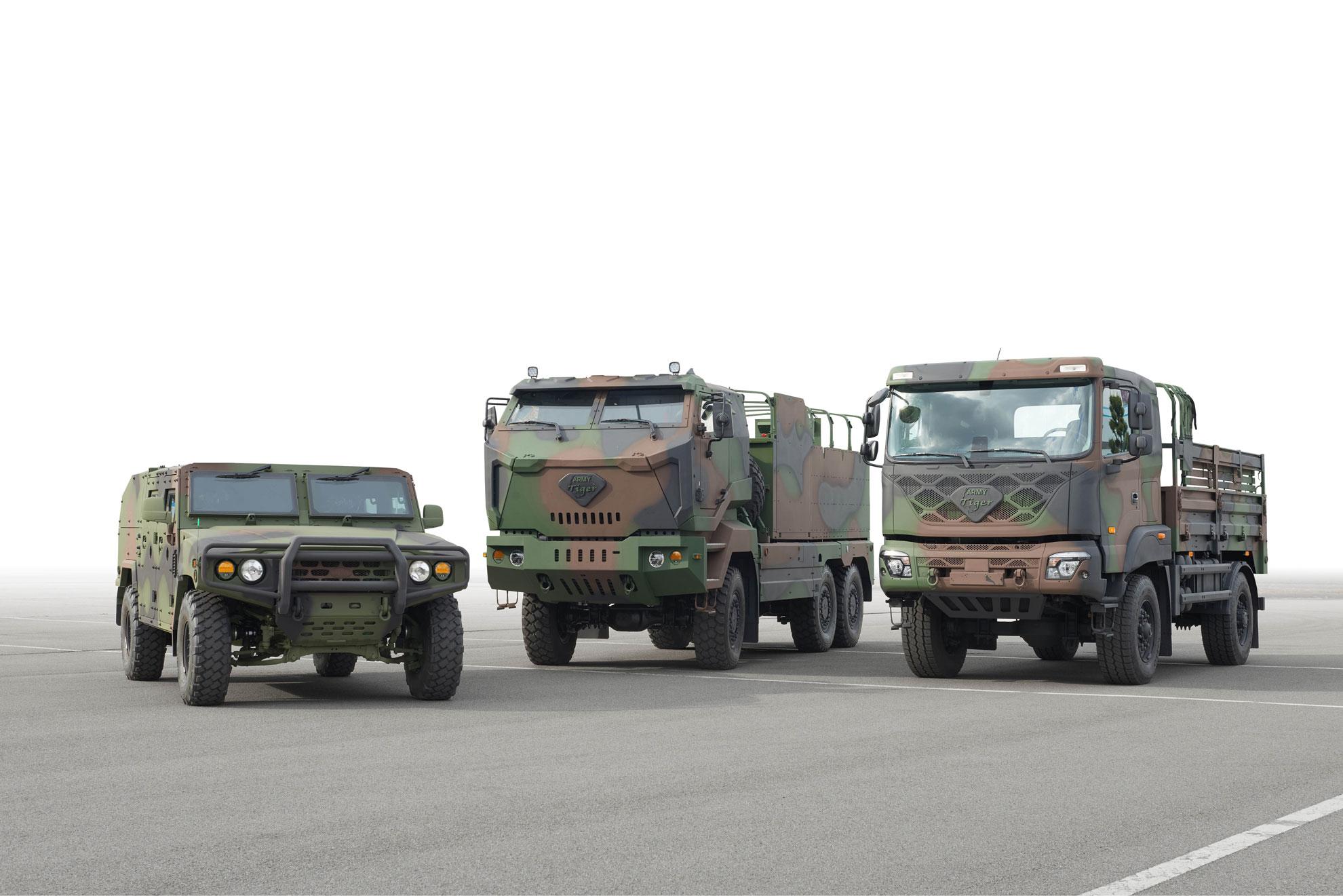 Kia a dezvăluit planurile pentru dezvoltarea unei noi platforme pentru vehicule militare