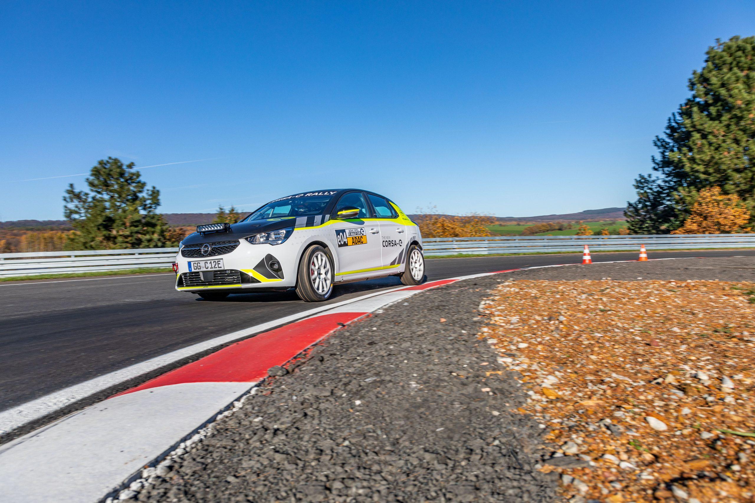 Opel Corsa-e Rally este primul autovehicul de raliuri complet electric