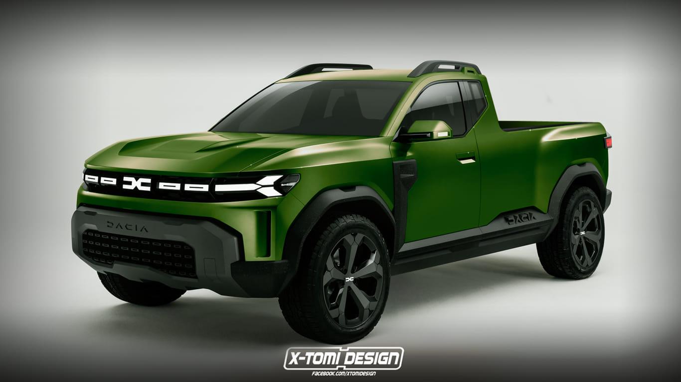 Un artist grafic din Ungaria redesenează Dacia x tomy desing 2021 2