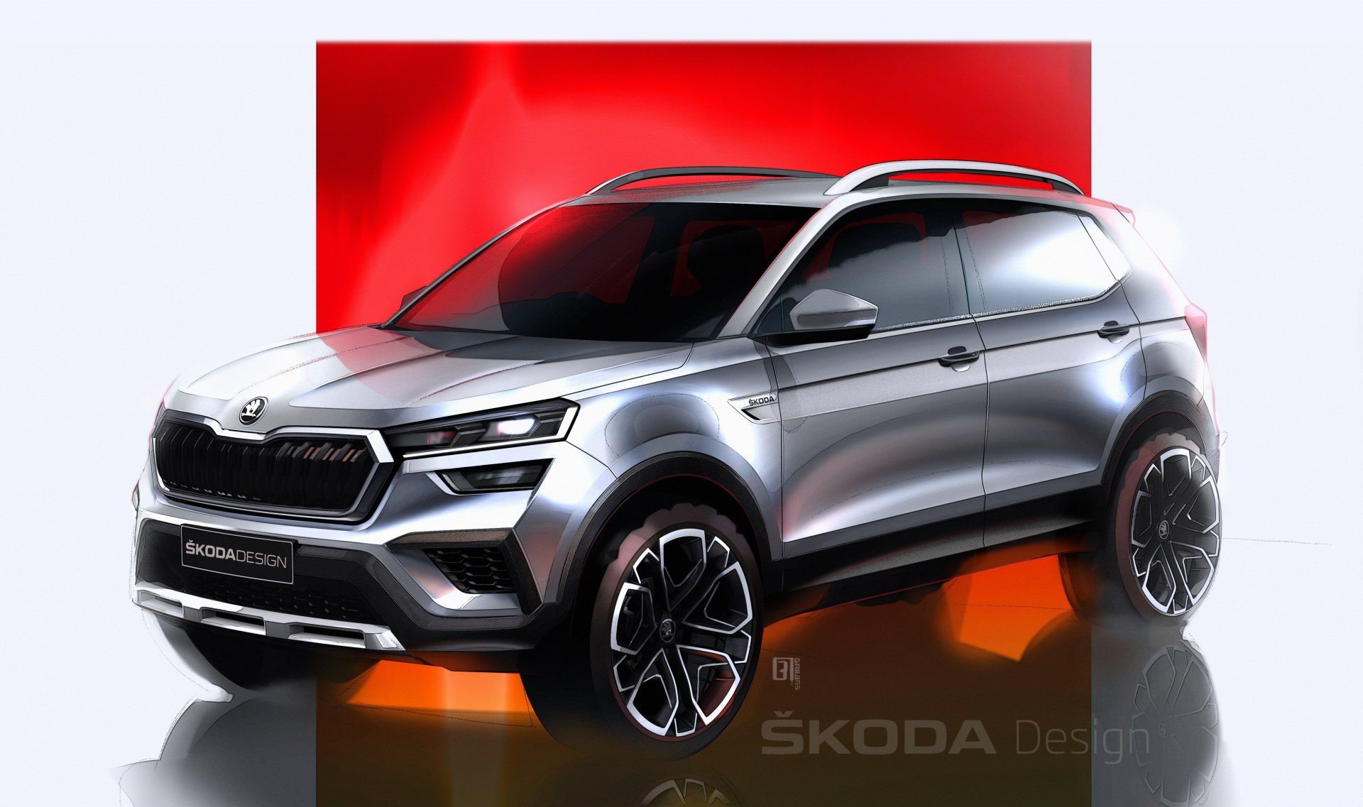 "Imagini cu cel mai nou SUV Skoda. Kushaq este ""interzis"" europenilor"