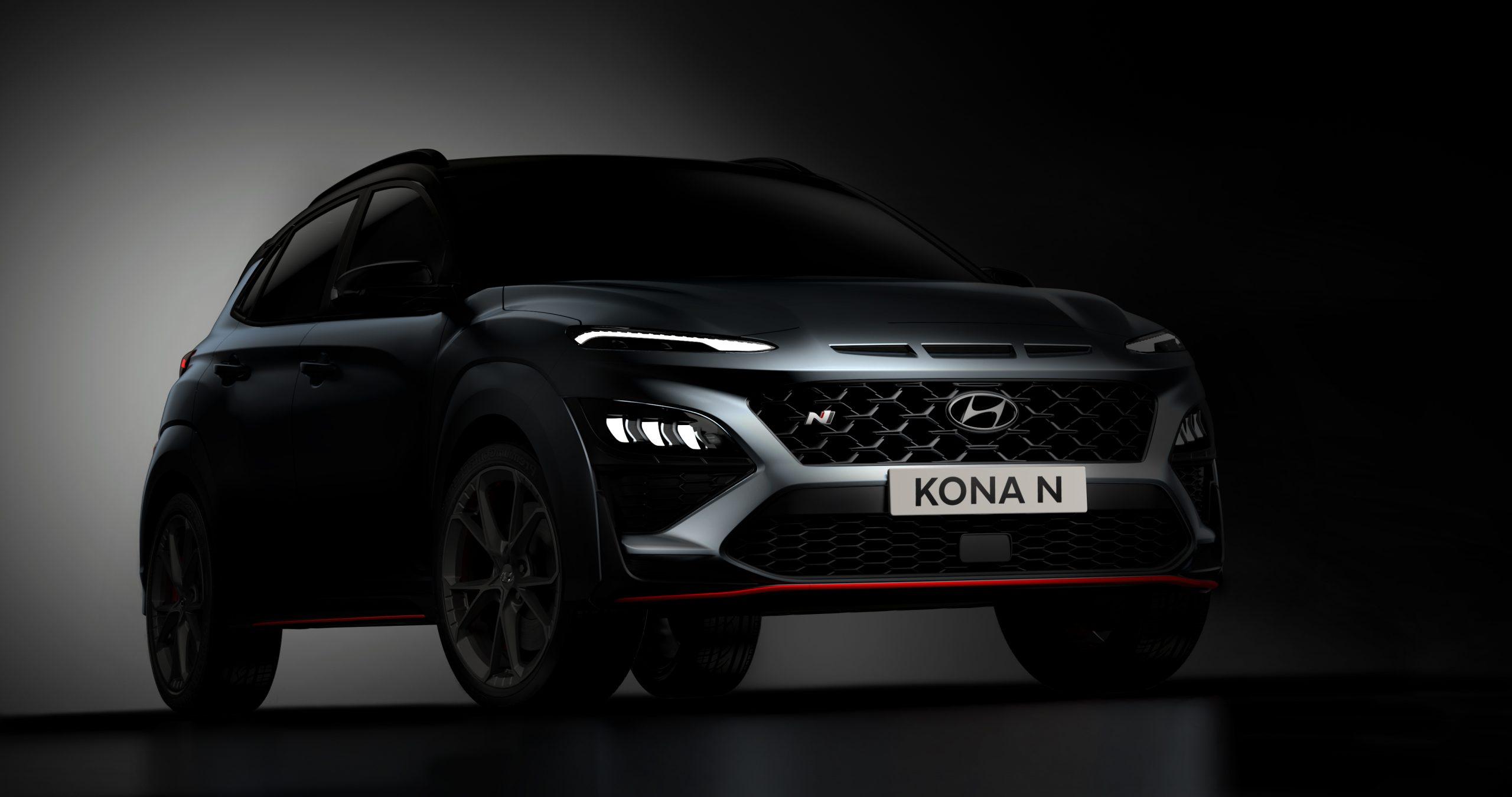 Noi imagini cu modelul de performanță Hyundai KONA N