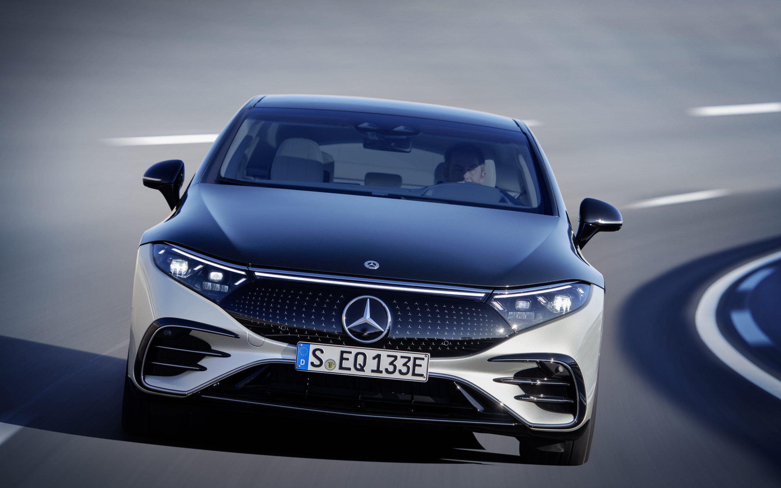 Noul Mercedes-Benz EQS