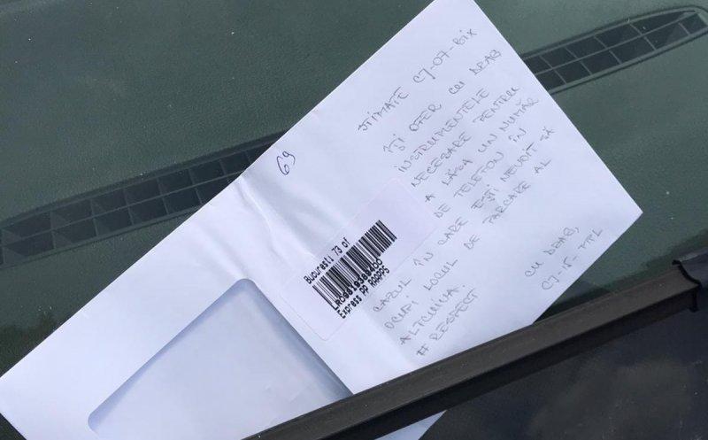 problema locului de parcare ocupat