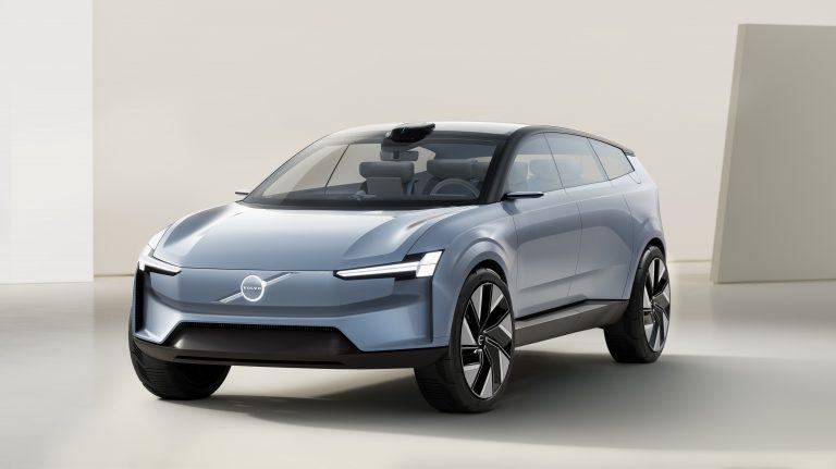autonomia Volvo Concept Recharge